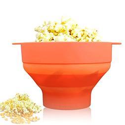 Seluna Microwave Popcorn Popper, Foldable Hot Air Popcorn Ma