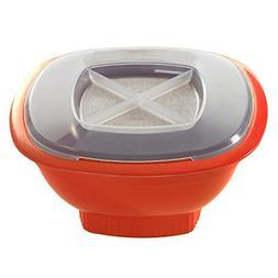 Nordic Ware Microwave Popcorn Popper, 12-Cup, Coral