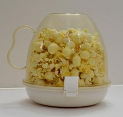 Cuisine Magic Microwave Popcorn Popper with Cup Cover and Tr