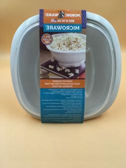 Nordic Ware Microwave Popcorn Popper, Food Warmer Serving Bo