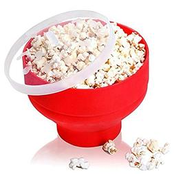 PAPWOO Microwave Popcorn Popper Silicone Foldable Popcorn Ma