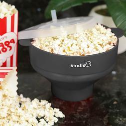 Microwave Popcorn Popper, Silicone Popcorn Maker, Collapsibl