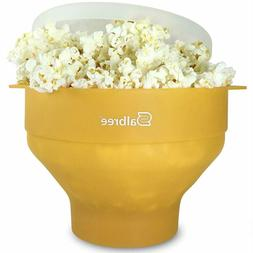 Salbree Microwave Popcorn Popper Silicone Popcorn Maker Coll