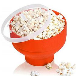 Microwave Popcorn Popper Silicone Popcorn Maker Collapsible