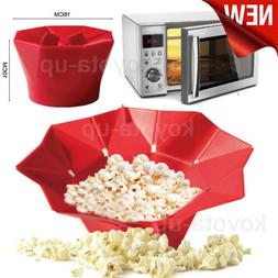 microwave silicone magic household popcorn maker container