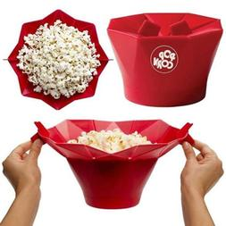 Microwave Silicone Magic Household Popcorn Maker Container H