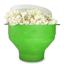 FidgetFidget Microwave Silicone Popcorn Popper Maker Collaps