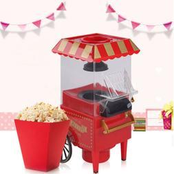 Mini Retro Popcorn Maker Household Electric Popcorn Popper P