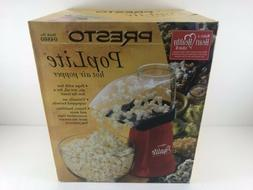New PRESTO 04860 PopLite Hot Air Fast Popcorn Popper No-Oil
