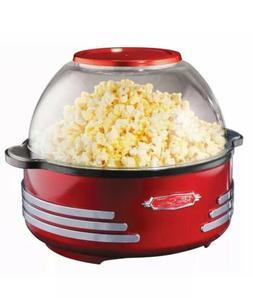 NEW Nostalgia '50s Vintage Style Stir Popper 24 Cups Movie T