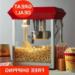 New Carnival King Commercial Popcorn Maker Machine 8 oz Popp