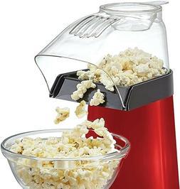 new hot air popcorn popper maker red