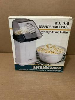 NEW Windmere Hot Air Popcorn Popper No Oli No Fat Fast Healt