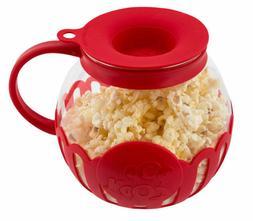 Ecolution Micro-Pop 1.5 Quart Microwave Popcorn Popper - Red