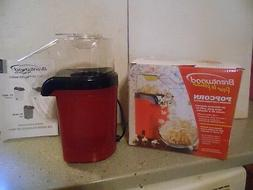 NEW IN BOX- Brentwood Red Hot Air Popcorn popper No oil nece