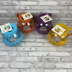 New Ecolution Micro-Pop Popcorn Popper 3qt Temperature Safe