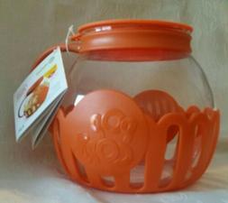 Ecolution ~ NEW Micro-Pop Popcorn Popper Glass Microwave 3 Q