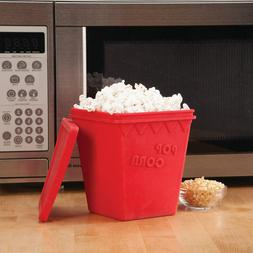 NEW Microwave Popcorn Popper by Chef's Pride, Red