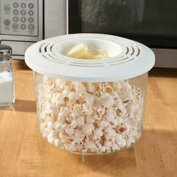 NEW Microwave Popcorn Popper, Holds Up To 10 Cups Of Popcorn
