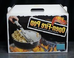NEW Open Fire Popcorn Popper Campfire Kit By Wabash Valley F