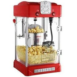 NEW Popcorn-Maker Movie-Theater Kitchen Retro Electric Machi