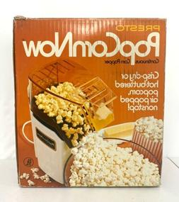 NEW! PRESTO Popcorn Now HOT AIR POPPER 1150 Watts 04810 New