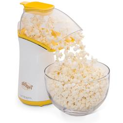 New Yellow PopLite Hot Air Popcorn Popper Pops Without Oil E