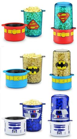 NIB DC Comics TM Batman Superman Star Wars R2D2 Mini Stir Po