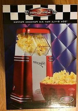 Nostalgia Electric 50's Retro Series Hot Air Popcorn Maker P