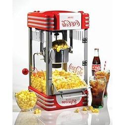 Nostalgia Electrics Coca-Cola Series Kettle Popcorn Maker, R