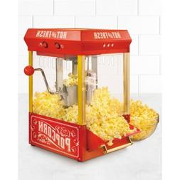 Nostalgia Electrics Kettle Red Hot Air Popcorn Popper Cart M