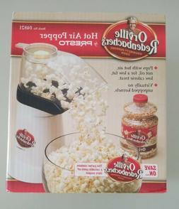 Presto Orville Redenbacher's Hot Air Popper Popcorn Popper