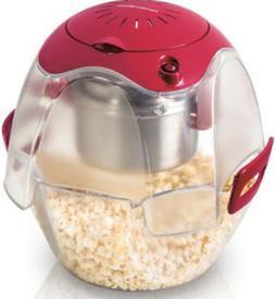 Hamilton Beach Party Popper Popcorn Maker & Serving Bowl Red
