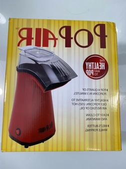 Pop Air Popcorn Popper The Healthy Way To Pop NEW