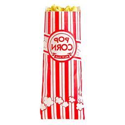 """Carnival King 3 3/4"""" x 1 3/4"""" x 9 1/2"""" 1.1 oz. Popcorn Bag -"""