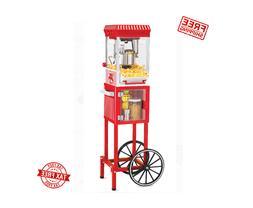 Popcorn Cart Machine Popper Maker Vintage Collection Red Sta