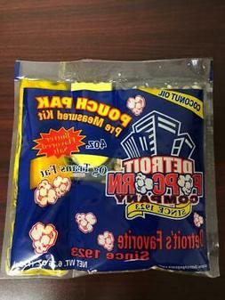 Popcorn / Coconut Oil  4 oz. Kit  Packs Naks Paks