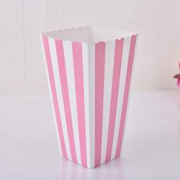 FidgetFidget Popcorn Box 12pcs Colorful Gold Gift Box Party