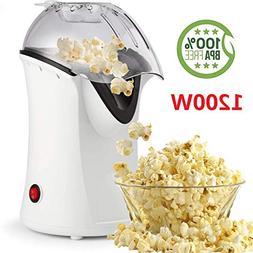 1200W Popcorn Machine Electric Machine Maker 4 Cups of Popco