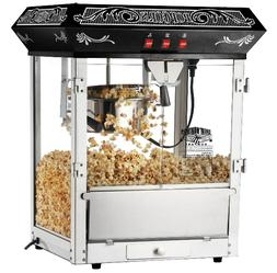 Great Northern Popcorn Machine Maker 8OZ Popper Black Vintag