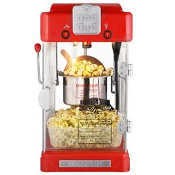 Popcorn Machine Pop Pup Retro Style Electric Popper Home Use