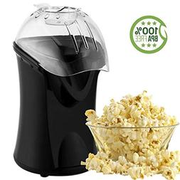 Popcorn Maker, Popcorn Machine, 1200W Hot Air Popcorn Popper