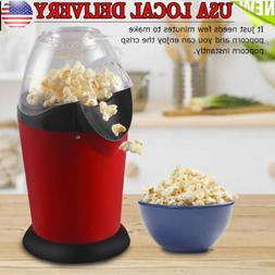 Popcorn Maker Machine 1200W Hot Air Popcorn Popper Healthy M