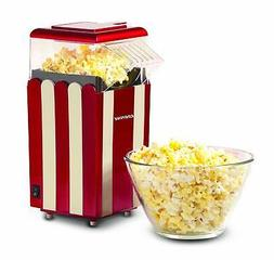 Egofine Popcorn Maker Machine, 1200W Healthy Hot Air Popcorn