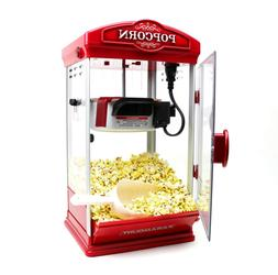 Popcorn Maker Machine by Paramount - New 8oz Capacity Hot-Oi