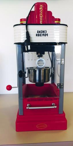 popcorn maker machine by oil capacity hot