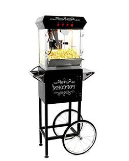 popcorn maker machine cart