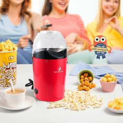 Popcorn Maker Machine Electric Pop Corn Hot Air Popper Home