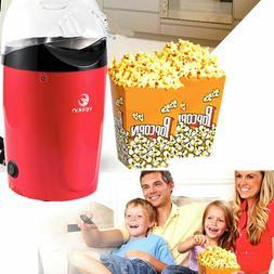 Popcorn Maker Machine Hot Air Oil-Free Movie Night Popping H