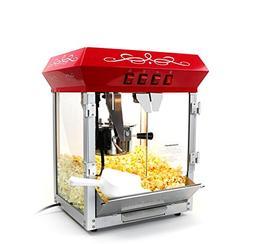 Paramount 6oz Popcorn Maker Machine - New Upgraded Feature-R